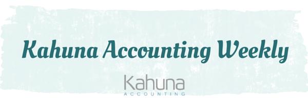 Kahuna Accounting Weekly
