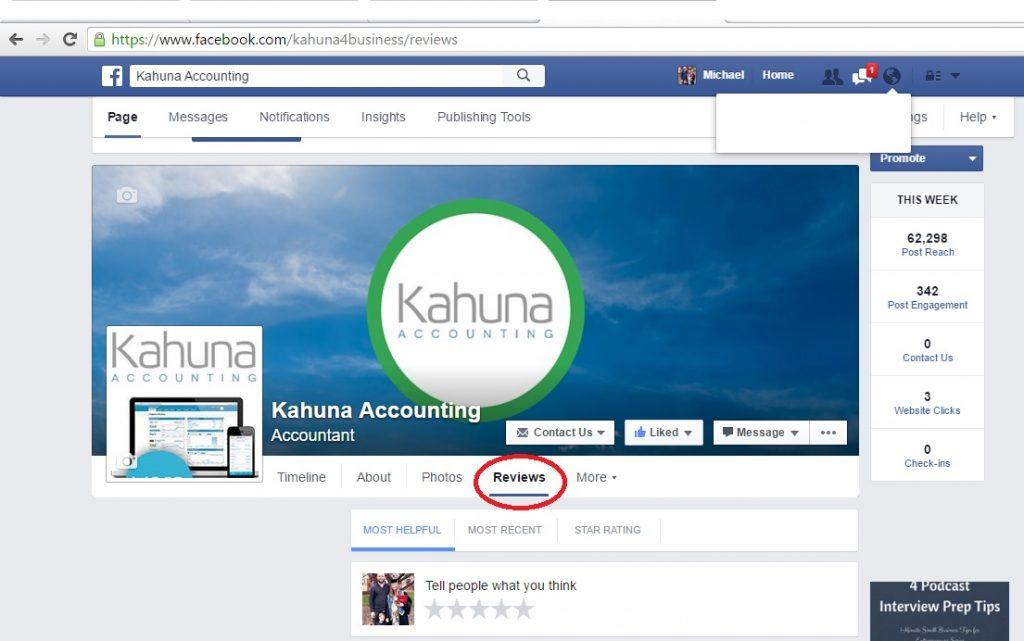 Facebook Review Screenshot 2