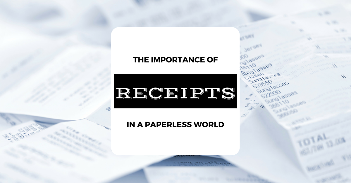 Receipts with Box