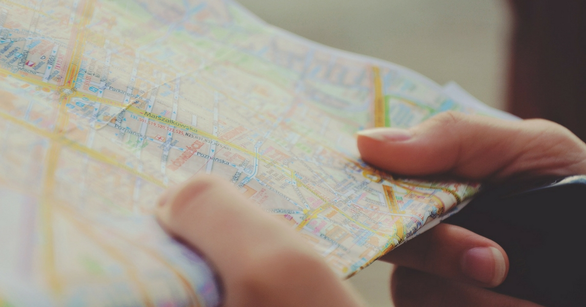 Knowing Where You Are and Where You're Going